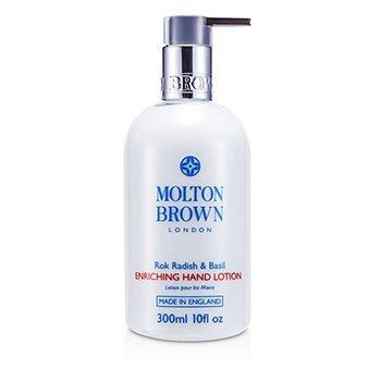Molton Brown Rok Radish & Basil Enriching Hand Lotion  300ml/10oz