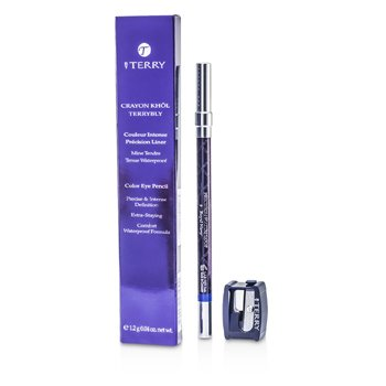 By Terry Crayon Khol Terrybly Color Eye Pencil (Waterproof Formula) - # 9 Royal Navy  1.2g/0.04oz