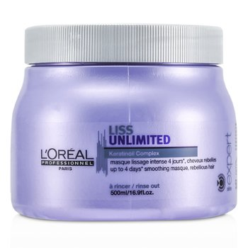 Professionnel Expert Serie - Liss Unlimited Smoothing Masque (For Rebellious Hair)  500ml/16.9oz