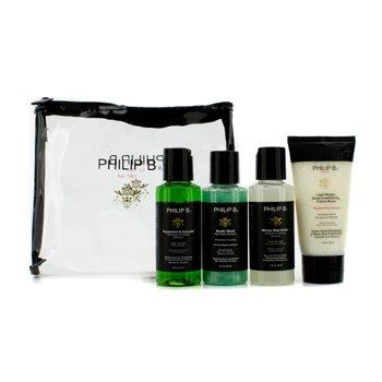 Philip B Travel Kit (Paraben Free)  4pcs