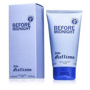 John Galliano Before Midnight Hair & Body Wash  150ml/5oz