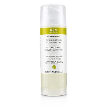 Ren Clarimatte T-Zone Control Cleansing Gel (For Combination To Oily Skin)  150ml/5.1oz