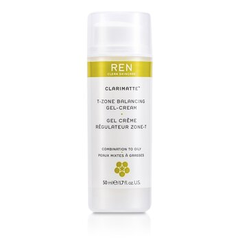 Ren Clarimatte T-Zone Balancing Gel Cream (For Combination To Oily Skin)  50ml/1.7oz