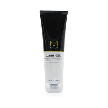 Paul Mitchell Mitch Double Hitter Sulfate-Free 2-in-1 Shampoo & Conditioner  250ml/8.5oz