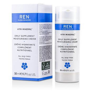 Ren Vita Mineral Daily Supplement Moisturising Cream (For All Skin Types)  50ml/1.7oz