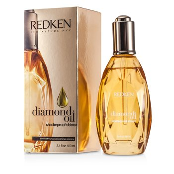 Redken Diamond Oil Shatterproof Shine (For Dull, Damaged Hair)  100ml/3.4oz