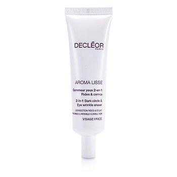 Decleor Aroma Lisse 2-in-1 Dark Circle & Eye Wrinkle Eraser (Salon Size)  30ml/1oz