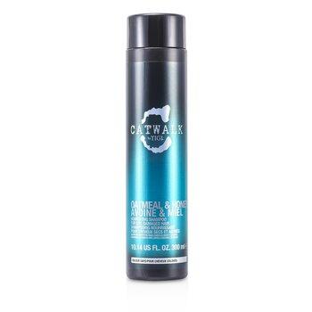 Tigi Catwalk Oatmeal & Honey Nourishing Shampoo (For Dry, Damaged Hair)  300ml/10.14oz