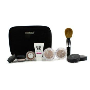 BareMinerals BareMinerals Get Started Complexion Kit For Flawless Skin - # Medium Beige  6pcs+1clutch