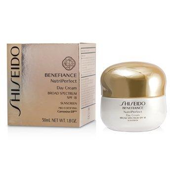 Shiseido Benefiance NutriPerfect Day Cream SPF18  50ml/1.8oz