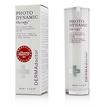 DERMAdoctor Photodynamic Therapy 3-In-1 Facial Lotion SPF 30  30ml/1oz