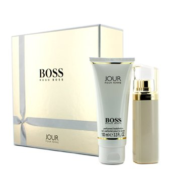 Boss Jour Coffret: Eau De Parfum Spray 50ml/1.6oz + Body Lotion 100ml/3.3oz  2pcs