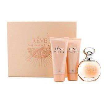 Van Cleef & Arpels Reve Coffret: Eau De Parfum Spray 100ml/3.3oz + Body Lotion 100ml/3.3oz + Shower Gel 100ml/3.3oz  3pcs