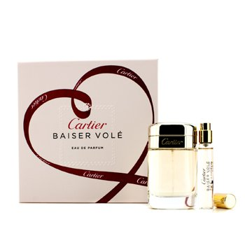 Baiser Vole Coffret: Eau De Parfum Spray 50ml/1.6oz + Eau De Parfum Spray 9ml/0.3oz  2pcs