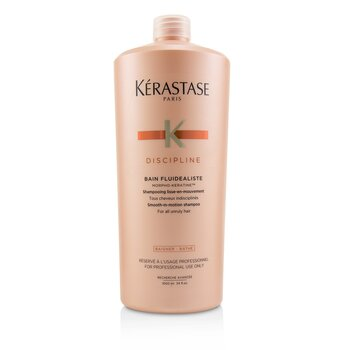 Kerastase Discipline Bain Fluidealiste Smooth-In-Motion Shampoo (For All Unruly Hair)  1000ml/34oz