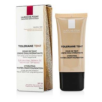 La Roche Posay Toleriane Teint Hydrating Water Cream Foundation SPF 20 - 04 Golden Beige  30ml/1oz