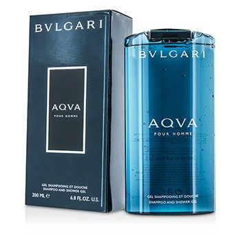 Aqva Pour Homme Shampoo & Shower Gel 200ml/6.8oz