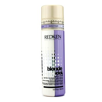 Redken Blonde Idol Custom-Tone Adjustable Color-Depositing Daily Treatment (For Cool or Platinum Blondes)  196ml/6.6oz