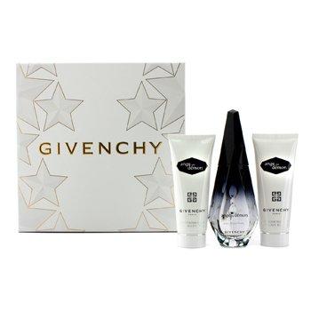 Givenchy Ange Ou Demon Coffret: Eau De Parfum Spray 50ml/1.7oz + Silk Body Veil 75ml/2.5oz + Delicate Bath Gel 75ml/2.5oz  3pcs