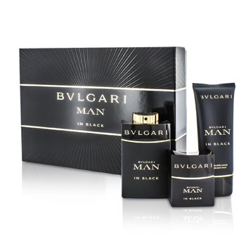 In Black Coffret: Eau De Parfum Spray 100ml/3.4oz + Eau De Parfum Spray 30ml/1oz + After Shave Balm 100ml/3.4oz  3pcs