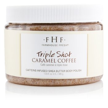 Farmhouse Fresh Body Polish - Triple Shot Caramel Coffee  385g/13.6oz