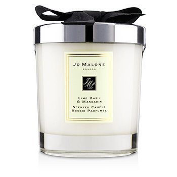 Lime Basil & Mandarin Scented Candle  200g (2.5 inch)