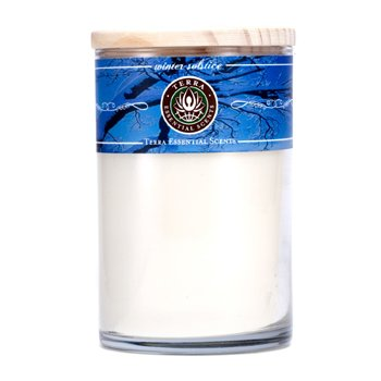 Terra Essential Scents Hand-Poured Soy Candle - Winter Solstice  12oz
