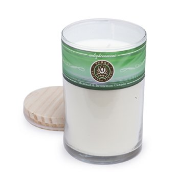 Massage & Intention Candle - Enlightenment  12oz