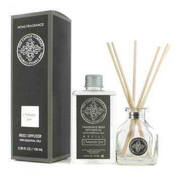 The Candle Company Reed Diffuser with Essential Oils - Champagne Rose  100ml/3.38oz