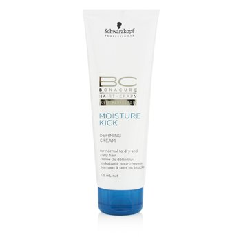 Schwarzkopf BC Moisture Kick Defining Cream (For Normal to Dry and Curly Hair)  125ml/4.25oz