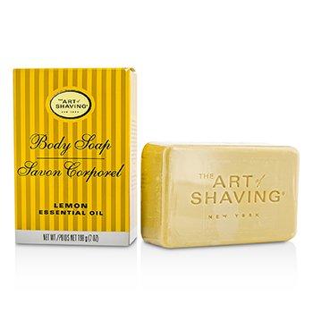 The Art Of Shaving Body Soap - Lemon Essential Oil  198g/7oz