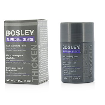 Bosley Professional Strength Hair Thickening Fibers - # Gray  12g/0.42oz