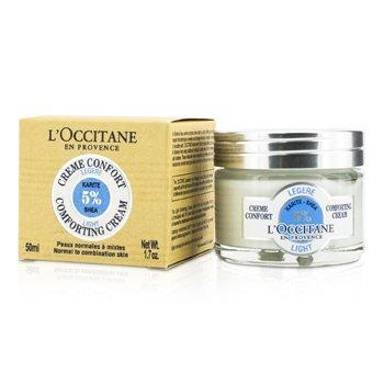 L'Occitane Shea Light Comforting Cream - Normal to Combination Skin  50ml/1.7oz