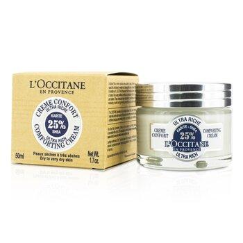 L'Occitane Shea Ultra Rich Comforting Cream - Dry to Very Dry Skin  50ml/1.7oz