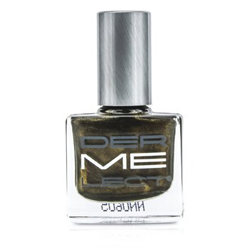 Dermelect ME Nail Lacquers - Decadence (Metallic Espresso With Green Undertone)  11ml/0.4oz