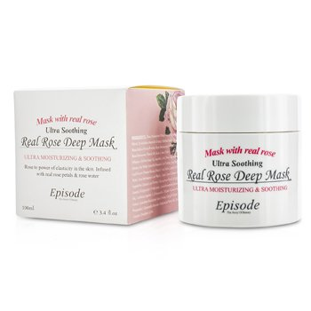 Episode Real Rose Deep Mask  100ml/3.4oz
