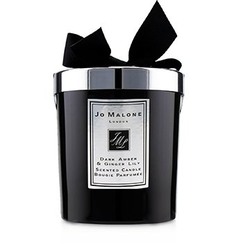 Dark Amber & Ginger Lily Scented Candle  200g (2.5 inch)