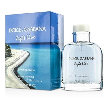 Dolce & Gabbana Light Blue Swimming In Lipari Eau De Toilette Spray (Limited Edition)  125ml/4.2oz