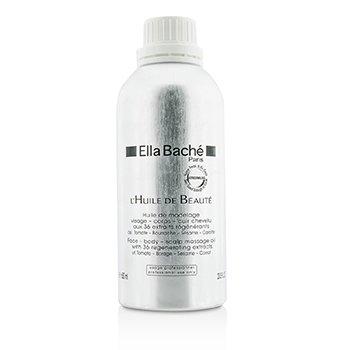 Ella Bache Face-Body-Scalp Massage Oil (Salon Product)  600ml/20.3oz