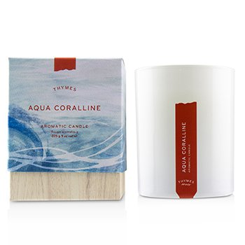Thymes Aromatic Candle - Olive Leaf  255g/9oz