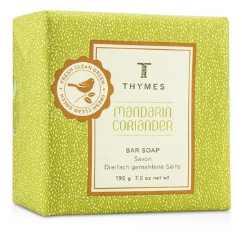 Thymes Mandarin Coriander Bar Soap  195g/7oz