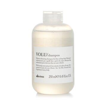Davines Volu Volume Enhancing Shampoo (For Fine or Limp Hair)  250ml/8.45oz