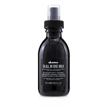 Davines OI All In One Milk Multi Benefit Beauty Treatment (For All Hair Types)  135ml/4.56oz
