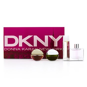House Of DKNY Miniature Coffret: City, Be Delicious, Energizing, Golden Delicious  4pcs