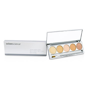 Colorescience Mineral Corrector Palette - Light To Medium  12g/0.42oz