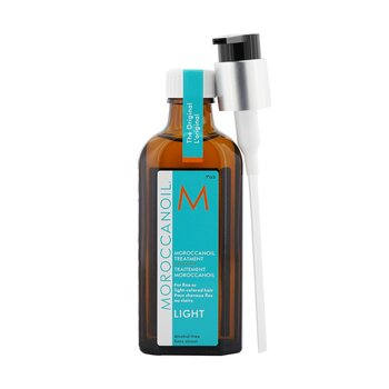 Moroccanoil Moroccanoil Treatment - Light (For Fine or Light-Colored Hair)  100ml/3.4oz