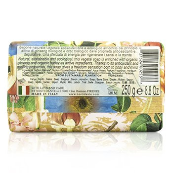 Bio Natura Sustainable Vegetal Soap - Ginseng & Barley  250g/8.8oz