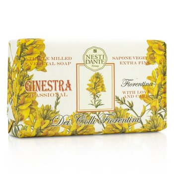Dei Colli Fiorentini Triple Milled Vegetal Soap - Broom  250g/8.8oz