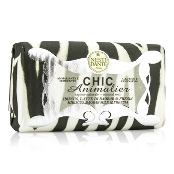 Chic Animalier Natural Soap - Hibiscus, Baobab Milk & Freesia  250g/8.8oz