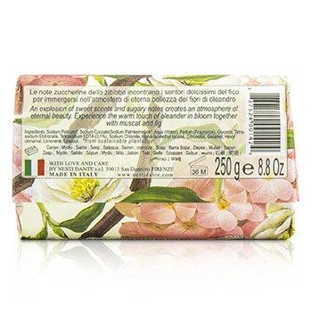Dolce Vivere Fine Natural Soap - Roma - Olenander In Bloom, Muscat & Fig  250g/8.8oz
